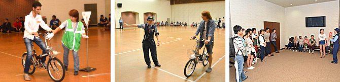 留学生対象の自転車講習会を開催しました