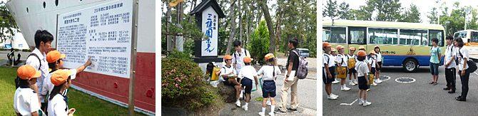 教員を目指す学生が東海大学付属小学校の授業をサポートしています