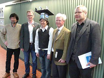 卒業生の丹佑之さんがマックス・プランク研究所(ドイツ)で博士号を取得しました