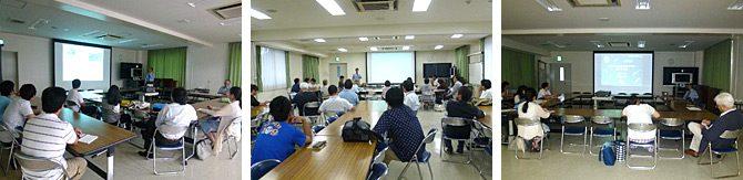 新任教員の研究を紹介する「海洋学部着任セミナー」を開催しました
