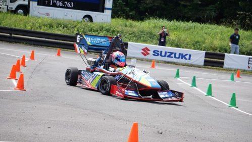 製作したレーシングカー