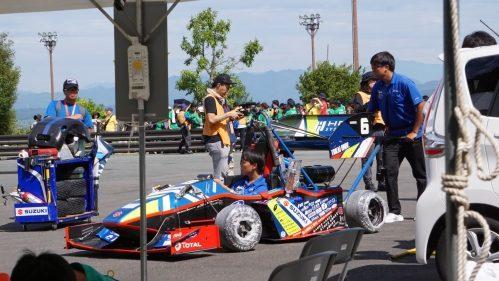 学生フォーミュラ大会・製作したレーシングカー