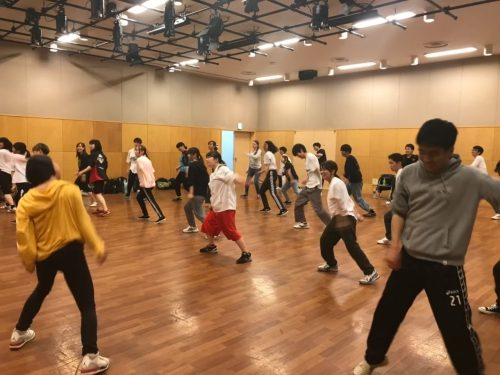 DAN DAN DANCE & SPORTSプロジェクト活動風景