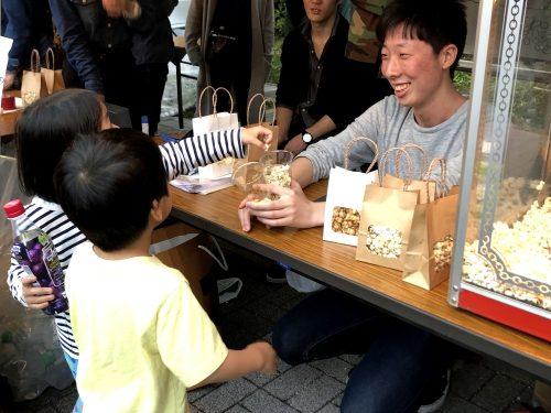 子供たちが楽しめるようなイベントの運営の様子