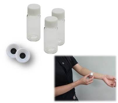 皮膚ガス用サンプラーの写真