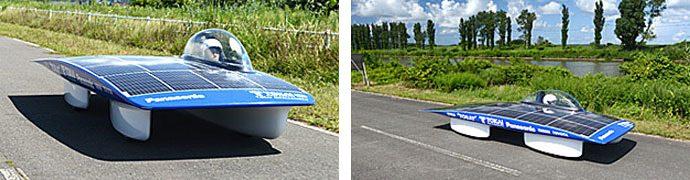 2013年型Tokai Challengerのテスト走行の様子