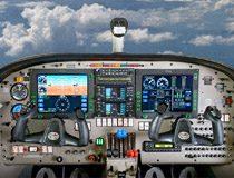 操縦席の計器