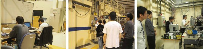 生命化学科の学生がSPring-8での放射光実験に取り組みました