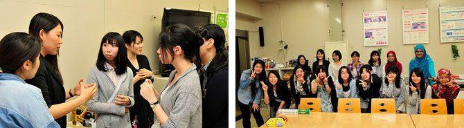 電気電子工学科主催の女子会を開催しました