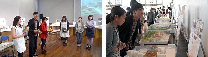 建築学科が「建築とカタチ-東海大学建築卒業設計・優秀作品展2014-」を横浜で開催しました