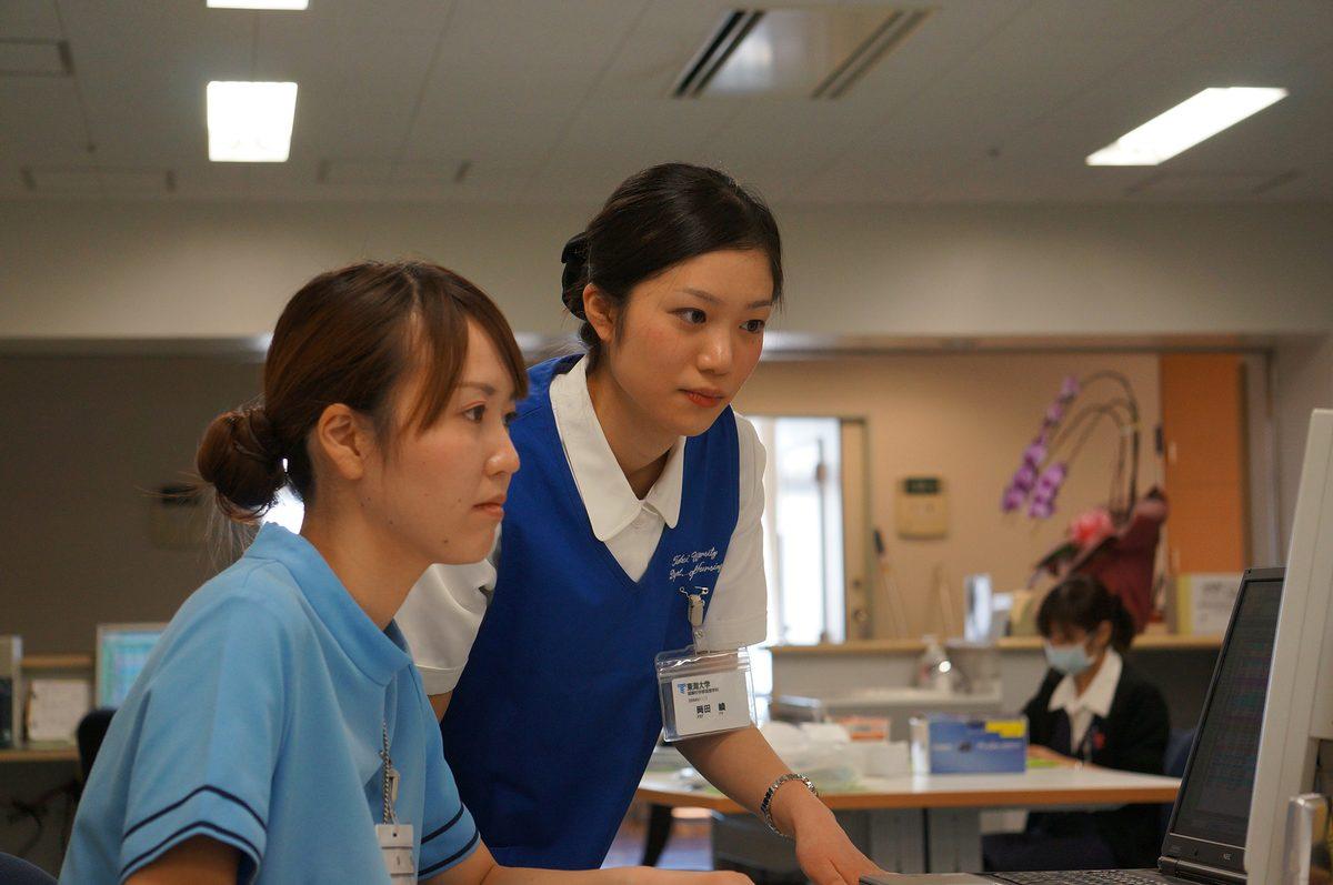 看護学科の特色