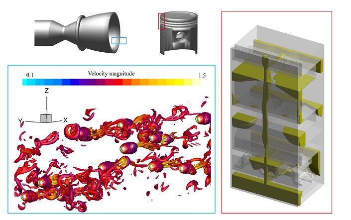 数値流体解析を用いた様々な流体関連現象の予測と工学応用