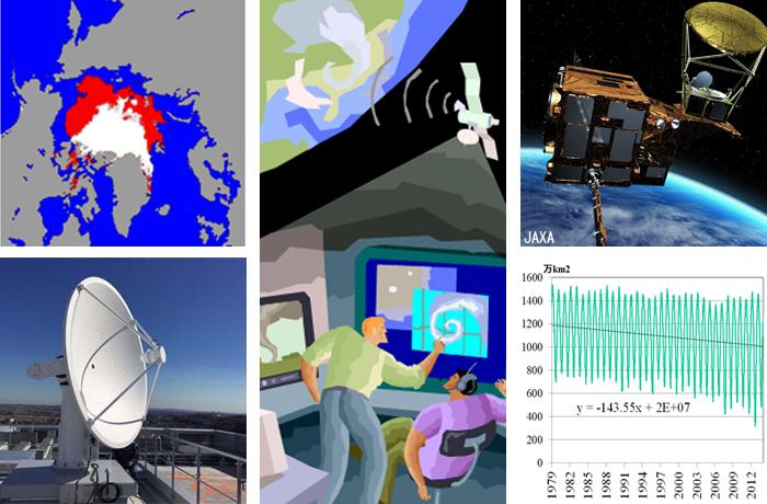 地球観測衛星データを地球環境・災害監視に役立てる